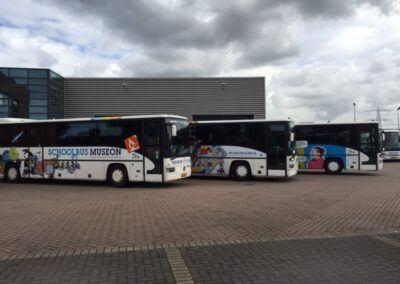 Museon wagenpark bussen