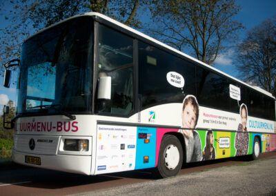Cultuurmenu-bus oud anno 2013
