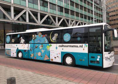 Cultuurmenu-bus nieuw anno 2017